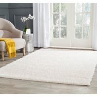 Safavieh Athens Shag Off-white Area Rug - 8' x 10'