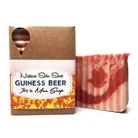 Handmade Guinness Beer Soap