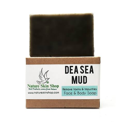 Handmade Dead Sea Mud Healing Bar for Face and Body