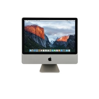 Apple iMac 24-inch Core 2 Duo 4GB-RAM 320GB-HD El Capitan 10.11 All-in-one Desktop Computer (Refurbished)
