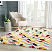 "Safavieh Kids Shag Playful Ivory/ Multi Rug - 8'6"" x 12'"