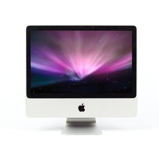 Apple iMac 24-inch Core 2 Duo 4GB RAM 500GB HD El Capitan 10.11 Desktop Computer (Refurbished)
