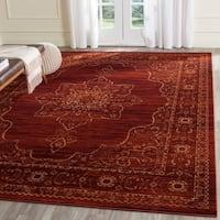Safavieh Serenity Ruby/ Gold Rug (8' x 10')