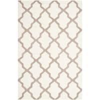 Safavieh Handmade Cambridge Ivory/ Beige Wool Rug (12' x 18') - 12' x 18'