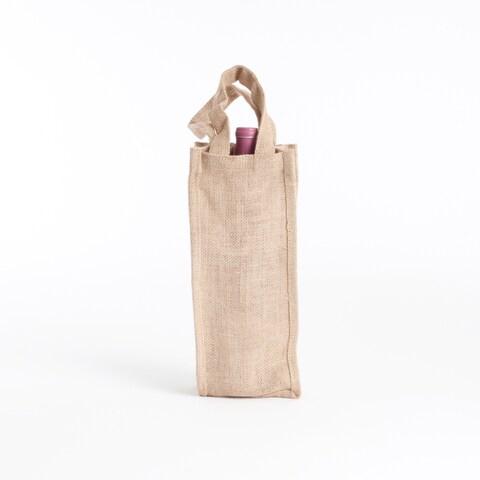 Jute Wine Bag - Set of 6