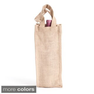 Jute Wine Bag - Set of 6