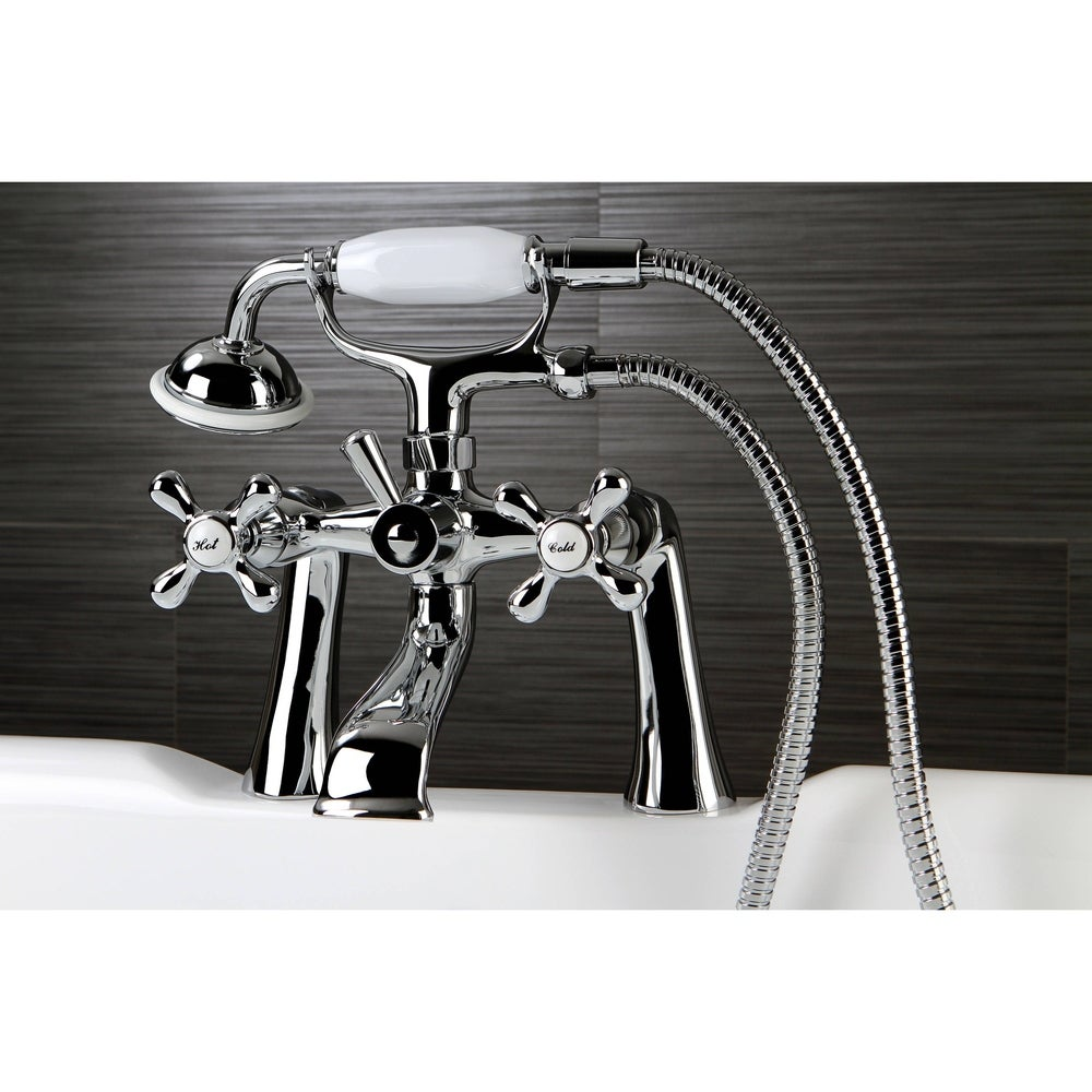 Water Creation WO-0001-01 Lift and Turn Exposed Finish Tub Drain for Claw Foot or Other Elegant Tubs