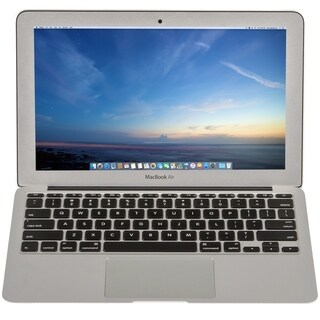 Apple Macbook Air MD224LL/A 11.6-inch Core i5 4GB RAM 128GB HDD- Refurbished by Overstock 4GB/128GB