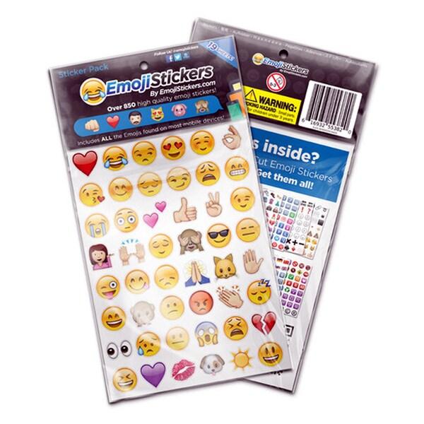 Emoji Large Sticker Pack