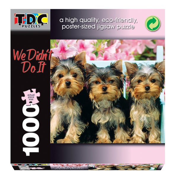 TDC Games 1000-piece 'We Didn't Do It' Puzzle