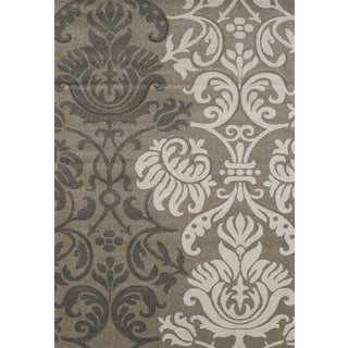 Hand-carved Townshend Lizzie Beige Area Rug (7'10 x 11'2)