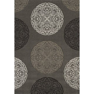 Townshend London Stone Hand Carved Area Rug - 7'10 x 11'2