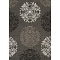 Townshend London Stone Hand Carved Area Rug - 5'3 x 7'6