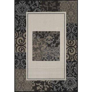 """Townshend Heaven Cream Hand Carved Area Rug (7'10"""" x 11'2"""")"""