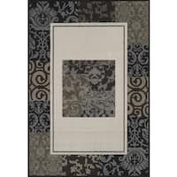 Townshend Heaven Cream Hand Carved Area Rug - 7'10 x 11'2