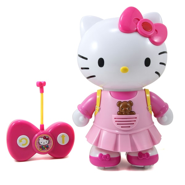 Jada Toys Hello Kitty Remote Control Walk With Me