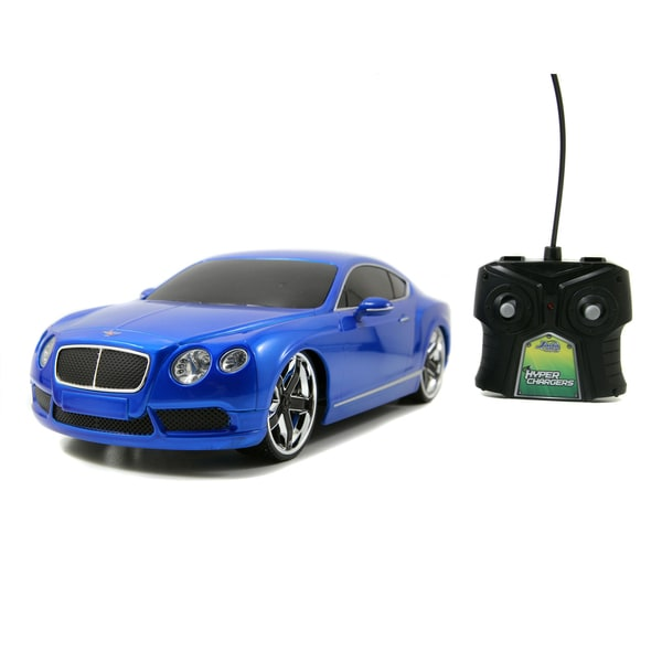 HyperChargers 1:16 Bentley GT Remote Control Car