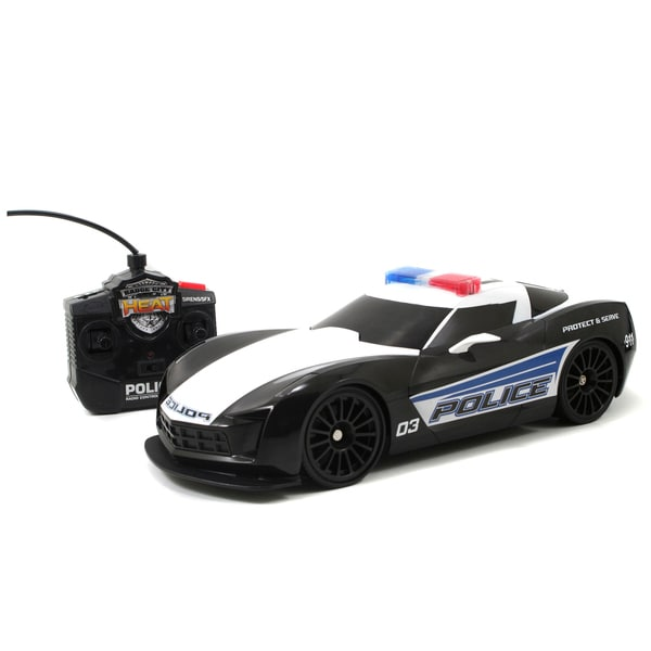 Chevy Corvette 1:16 RC Car with Lights and Sounds
