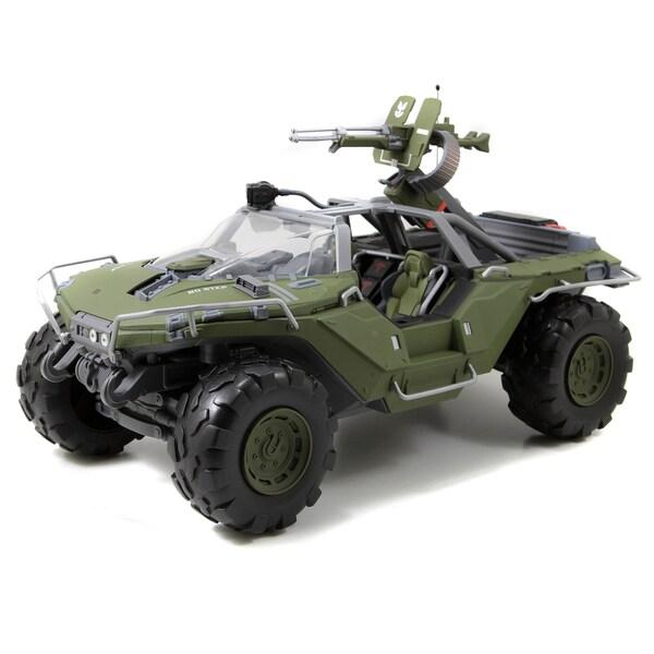 Jada Toys Halo 14-Inch Warthog Matte Green Die Cast