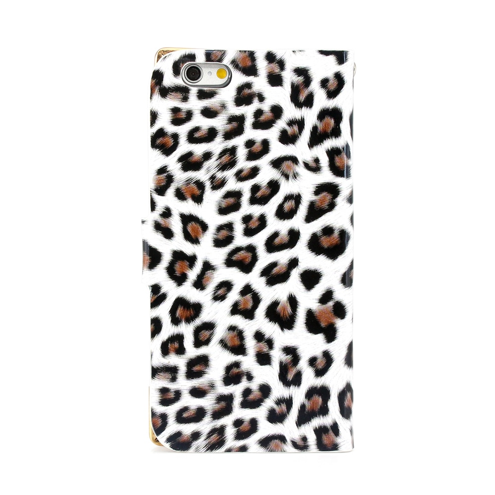 Gearonic Leopard Card Holder Wallet Case Cover for Apple ...