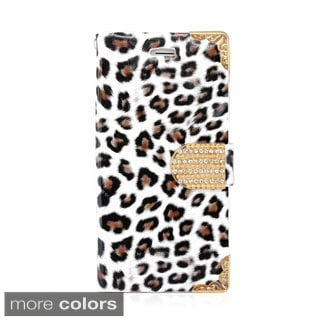 "Gearonic Leopard Card Holder Wallet Case Cover for Apple 4.7"" iPhone 6"