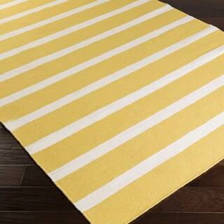 "Maubeuge Flatweave Striped Area Rug (3'6"" x 5'6"")"