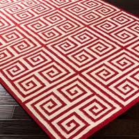 Hand-woven Salinas Flatweave Wool Area Rug (8' x 11')