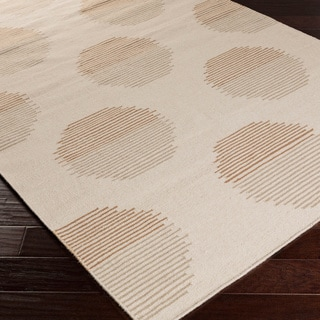 Hand-woven Cholet Flatweave Wool Area Rug