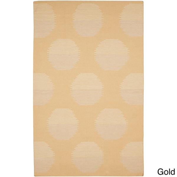 Hand-woven Vernon Flatweave Wool Rug (8' x 11')