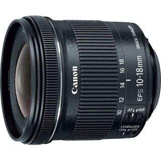 Canon - 10 mm to 18 mm - f/4.5 - 5.6 - Ultra Wide Angle Lens for Cano