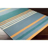 Hand-woven Kim Wool Area Rug - 8' x 11'