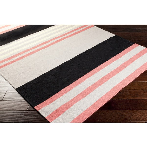 Hand-woven Patsy Wool Area Rug - 2' x 3'