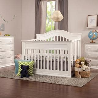DaVinci Brook Wood 4-in-1 Convertible Crib with Toddler Bed Conversion