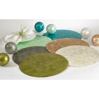 Capiz Design Placemats (set of 4)