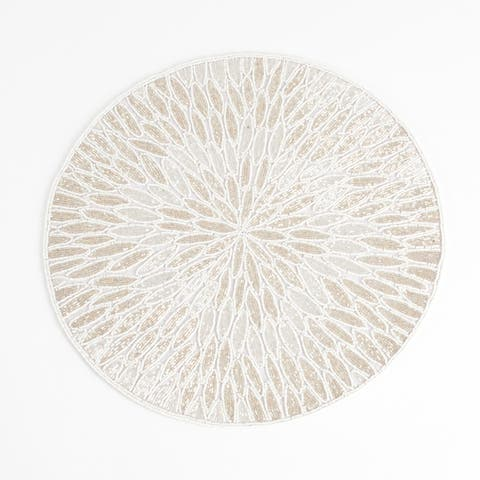 Beaded Design Placemats (set of 4)