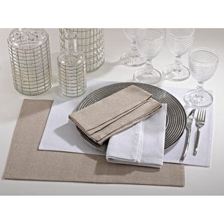 Shimmering Classic Placemats or Napkins (Set of 4)