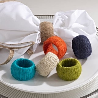 Jute Napkin Ring (set of 4)