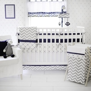 Link to My Baby Sam Out of the Blue Crib Bumper Similar Items in Child Safety