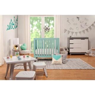 Babyletto Origami Mini Crib (Option: Lagoon)