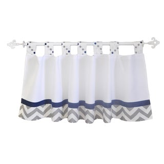 My Baby Sam Out of the Blue Curtain Valance