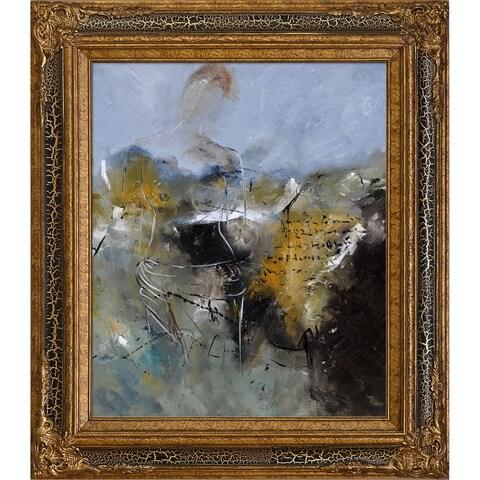 Pol Ledent 'Abstract 8821502' Framed Fine Art Print