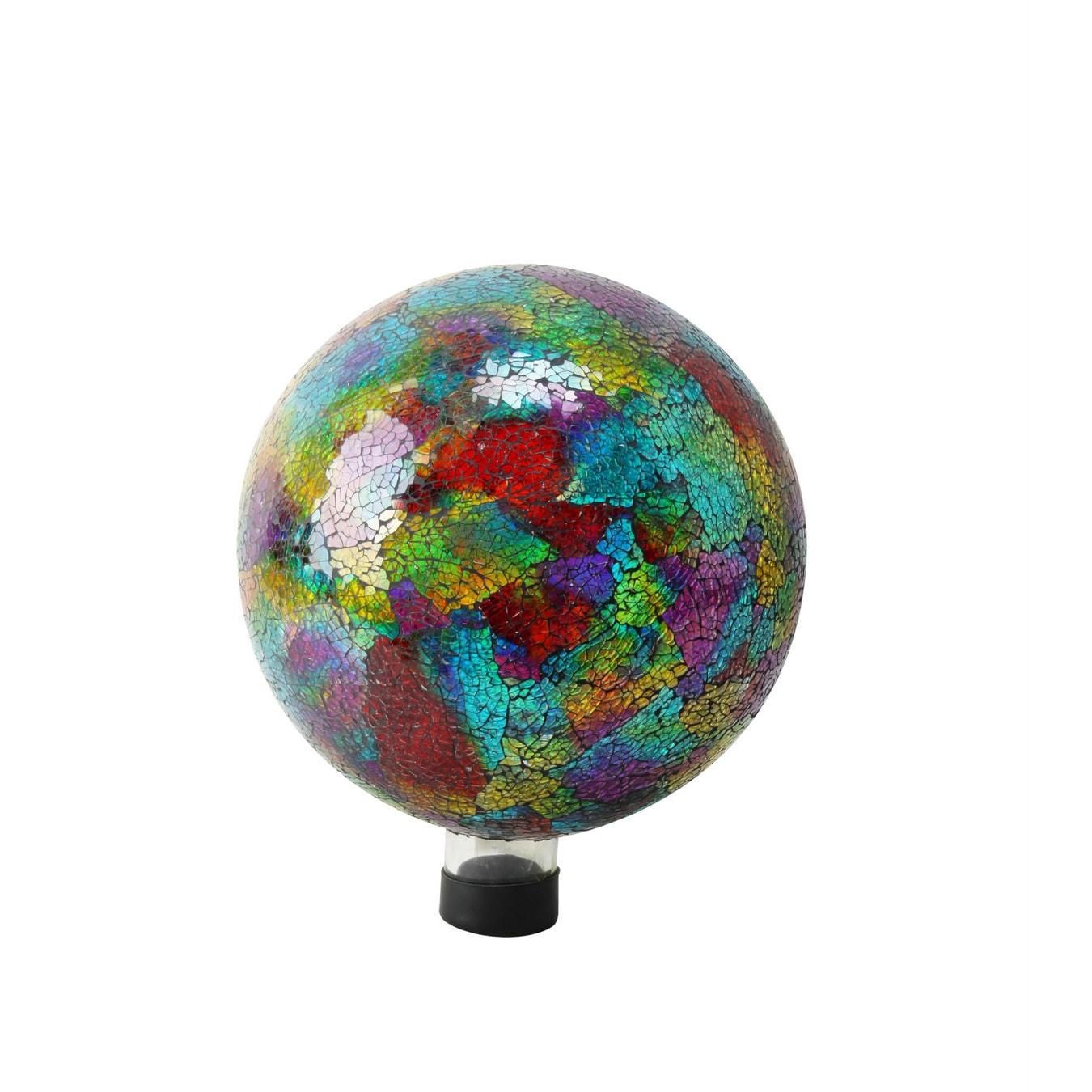 "Alpine 10-inch Multicolored Mosaic Gazing Globe (10"" Mult..."
