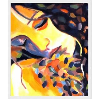 Helena Wierzbicki 'Delight' Framed Fine Art Print