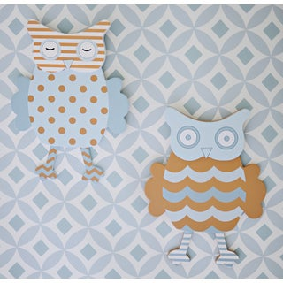 My Baby Sam Penny Lane Owl Wall Decor