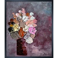 Pol Ledent 'Still Life (452120)' Framed Fine Art Print