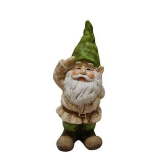 Gnome Saluting Statue