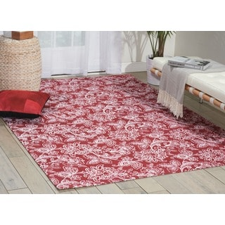 Waverly Art House Belinda Cordial Area Rug by Nourison (5' x 7')