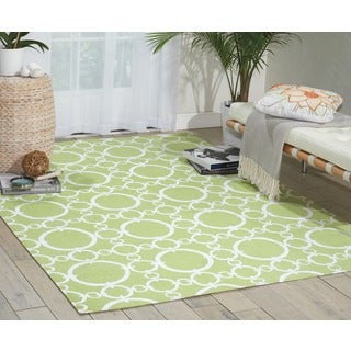 Waverly Art House Connected Celery Area Rug by Nourison (5' x 7')