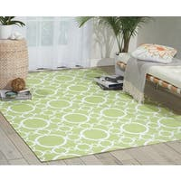 Waverly Art House Connected Celery Area Rug by Nourison (5' x 7') - 5' x 7'