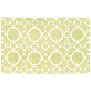 Waverly Art House Connected Celery Area Rug by Nourison (2'3 x 3'9)